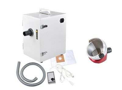Dental Lab Digital Single-row Dust Collector Vacuum Cleaner Jt-26 Suction Base