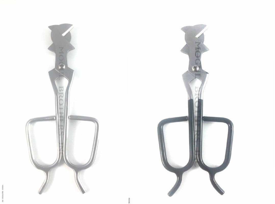 Diamond shears tools for Lamp work glass blowing glass art 8 inch