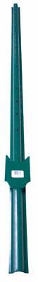 American Posts 60 In. H 13 Gauge Powder Coated Green Steel U-post
