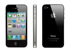 New In Retail Box Verizon Apple iPhone 4 16GB Black Smartphone