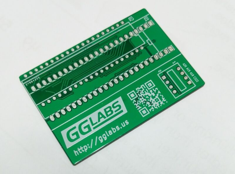 GGLABS E2R16v2.1 PCB - TL866 27C400 27C800 27C160 27C322 Programming Adapter