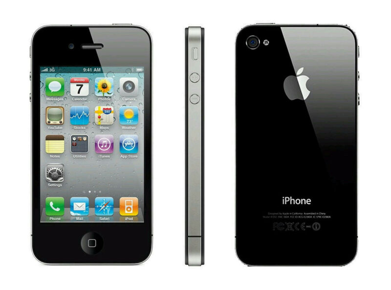 Lot of 10 Apple iPhone 4s and 4,8gb -32GB black and white various carriers