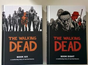 Walking Dead books 6 and 8