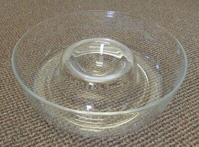 Princess House HERITAGE Crystal Glass CHIP & DIP 11
