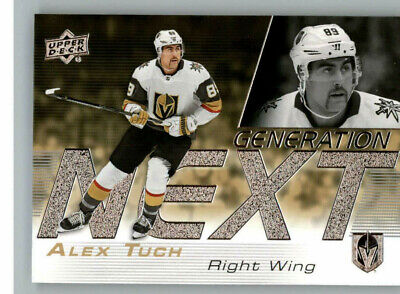 2019-20 Upper Deck Series 1 Generation Next GN-17 Alex Tuch-Vegas Golden Knights
