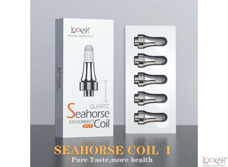 LOOKAH SEAHORSE QUARTZ COIL 5 CT/PACK