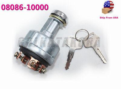 Tractor Ignition Starter Switch Fit Kubota Iseki Yanmar John Deere 0808610000