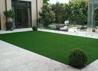 7x12Premium Synthetic Turf Green Artificial Grass Lawn Landscape Dog Fake Grass