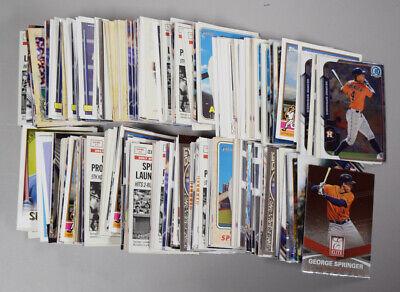 Lot Of 374 GEORGE SPRINGER Premium Base Cards SR624