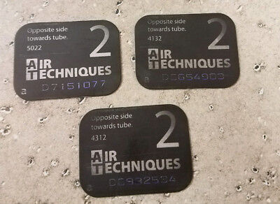 Used Air Techniques Scan X Phosphor Plates Size 2 Quantity 3