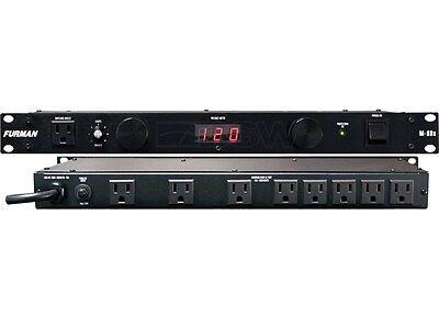 FURMAN M-8DX 9-OUTLET 15 AMP POWER CONDITIONER W/ LIGHTS M8DX M 8 D X