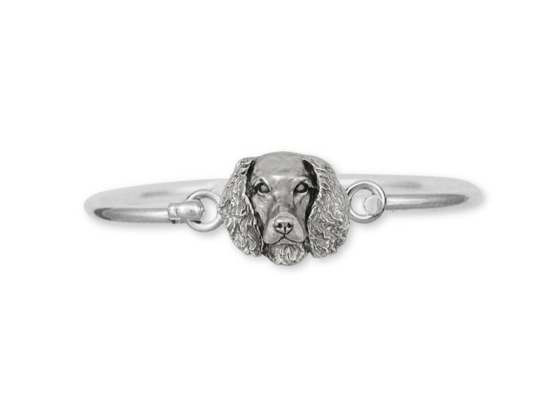 Springer Spaniel Bracelet Jewelry Sterling Silver Handmade Dog Bracelet SPS-HB