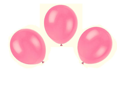 WHOLESALE Hot Pink BALLOONS Latex BULK PRICE JOBLOT Quality Any Occasion BALLON