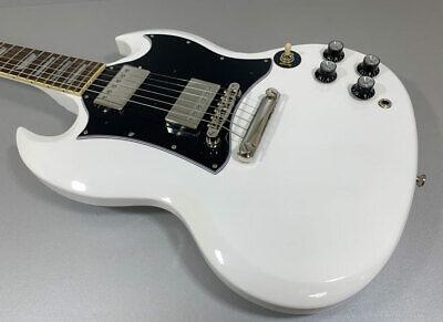 Epiphone Sg Standard Alpine Blanco Guitarra Eléctrica Solid Cuerpo