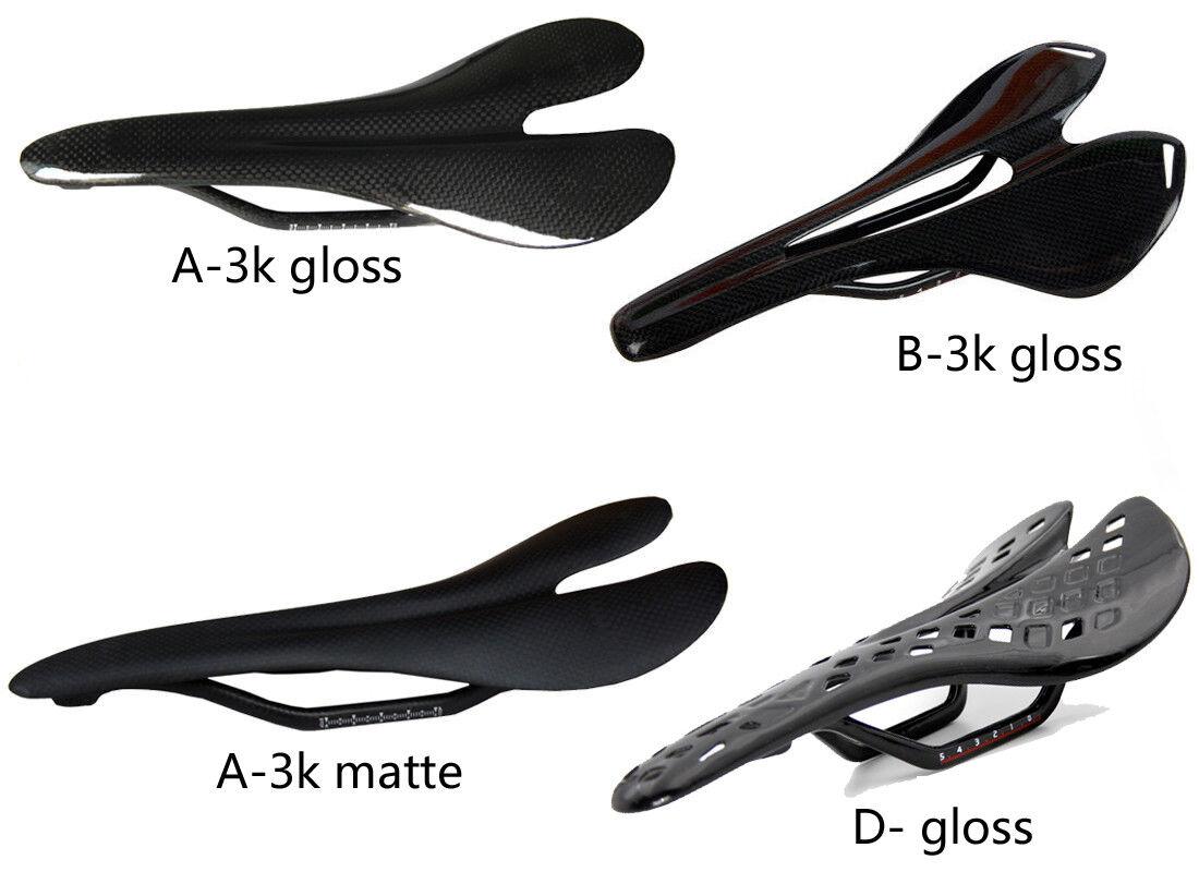 Ultraleicht Kohlefaser Fahrrad Sattel Sattelkissen Sitzkissen für MTB Rennrad