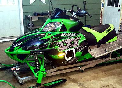2003 2004 2005 2006 Arctic Cat Firecat Sabercat Graphics F5 F6 F7 #3333 Green
