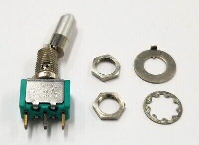 Jbt Cutler Hammer Ll123 Spdt On-on Locking Toggle Switch 6a 125v 3a 250v