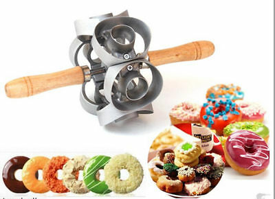1pc New Revolving Donut Cutter Maker Mould Molding Machines Mould