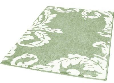 Kleine Wolke ACANTHE Roseau ( vert clair et blanc) Tapis de bain 70x120 cm