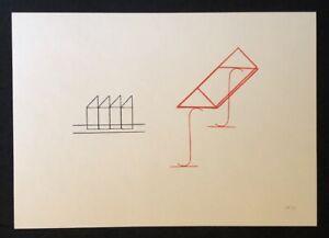 Michel Sauer, Ohne Titel, zinco TIMBRO PRESSIONE, 1991, a mano firmata e datata