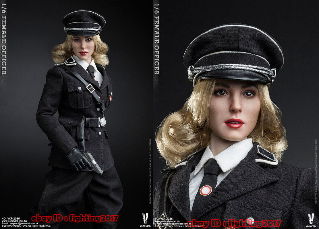 PPK Pistol w// Holster 1//6 Scale Female SS Officer Very Cool Action Figures