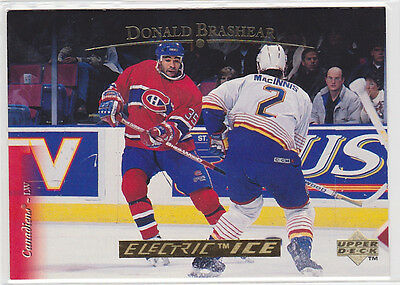 1995 95-96 Upper Deck Electric Ice Gold #411 Donald Brashear