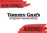 Now Hiring! Licensed and Apprentice hair stylists/barbers