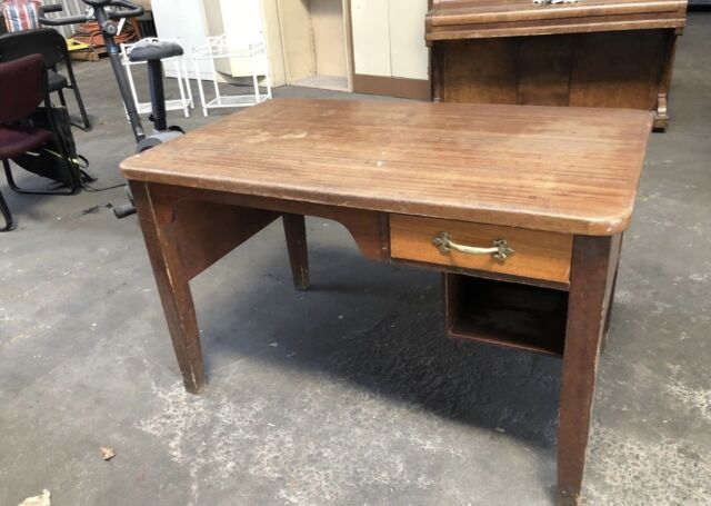 Solid Little Antique Desk Work Bench With Drawer Desks Gumtree Australia Newcastle Area Mayfield East 1191481901