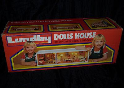 VINTAGE 1980's LUNDBY DOLLS HOUSE GOTHENBURG EXTENSION LEVEL IN ORIGINAL BOX