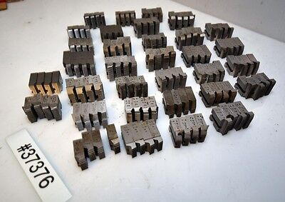 One Large Lot Geometric Die Head Chasers Inv.37376