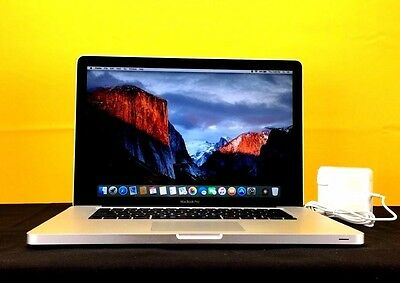 "Apple MacBook Pro 15"" 1TB SSD Hybrid 8GB RAM OSx-2015 Pre-Retina 1 YEAR WARRANTY"