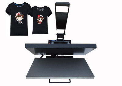 16x24 Flat Heat Press Machine T-shirts Transfer Printing Wooden Package Usa
