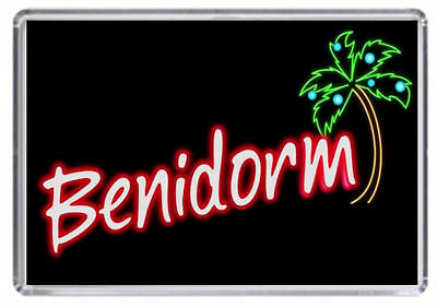 Benidorm TV show logo Fridge Magnet