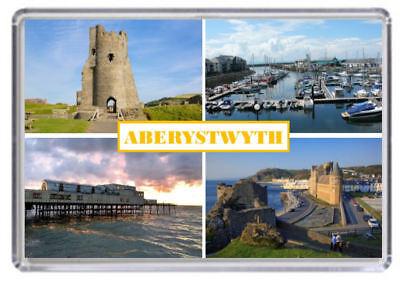 Aberystwyth, Wales Fridge Magnet 01