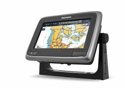 Raymarine a78-GD Chartpl. Fishf. with DownVision, Nav. Charts and Stern Transd.