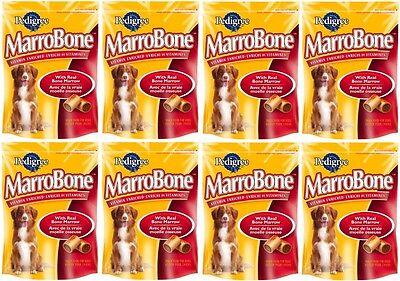 (8) Pedigree 10046 24oz MarroBone Vitamin Enriched Bone Marrow Dog Treats Snacks