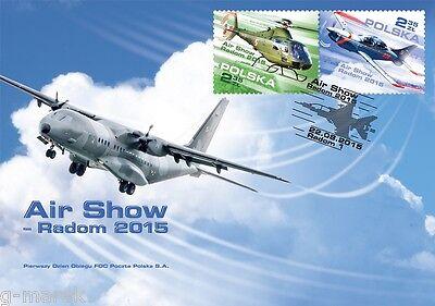 FDC - AIR SHOW 2015 in Radom - 2015 (Air Show 2015)