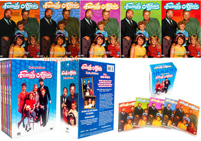 Family Affair: The Complete Series Season 1-5 (DVD Box Set, 2008, 24-Disc Set)