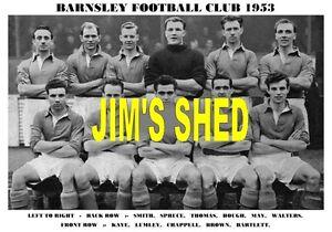 BARNSLEY-F-C-TEAM-PRINT-1953-KAYE-CHAPPELL-LUMLEY-MAY
