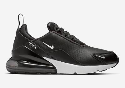 newest b0543 8f479 Men s Nike Air Max 270 Premium Leather Athletic Fashion Sneakers BQ6171 001  Ebay.com ...