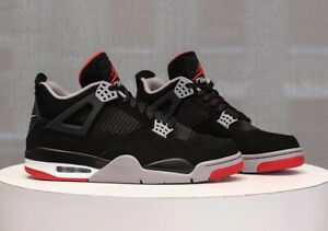 2ac7251396ae79 BRAND NEW Nike Air Jordan 4 Bred DS Size 4.5
