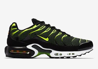 d307ba6fc7 Nike Air Max Plus TN | UK 8.5 EU 43 US 9.5 | 852630-036 Black, Dark Grey,  Volt