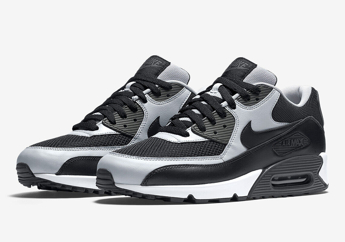 NIKE AIR MAX 90 ESSENTIAL MEN'S SHOE [SIZE 14] BLACKWOLF GREYWHITE 537384 053