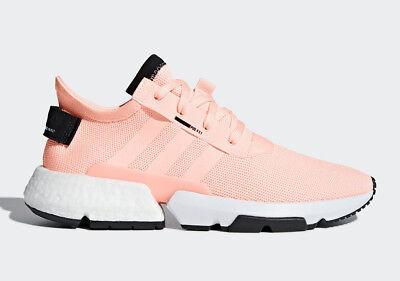 New Adidas Mens Originals Pod S3 1 Boost Shoes  B37364   Clear Orange  Black W