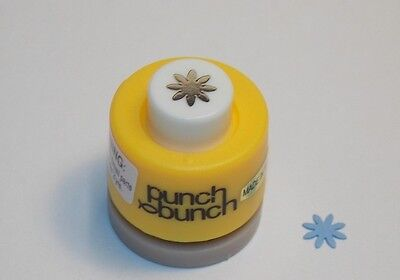 Mini Daisy Punch 1/4 inch 8mm Scrapbook Paper Punch Bunch G47 Dollys Gallery