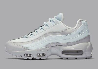 Wmns Nike Air Max 95 LX UK 7 EUR 41 Wolf Grey White New AA1103 005