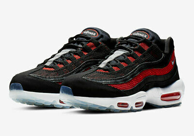 Nike Air Max 95 Essential Team University Red Black Bred 749766 600 Sz 9