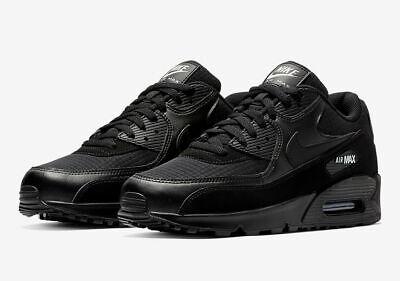 Nike Air Max 90 Essential Black White AJ1285-019 Running Shoes Men's NEW