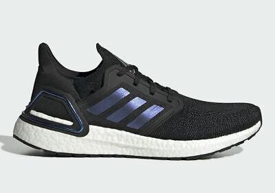 Adidas Ultraboost 20 ISS Core Black Blue Violet Met EG0692 UK9.5 US10 EU44