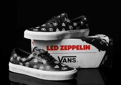 Vans x Led Zeppelin ERA Limited Edition Leather New in box Sold Out In Hand 11.5